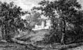 Auros-abbaye du Rivet-1881.png