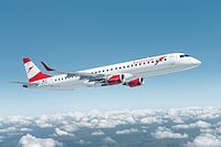 OE-LWI - E190 - Austrian Airlines