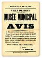 Avis d'ouverture du musée d'Elbeuf, 19 mars 1884.jpg