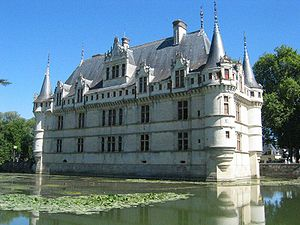 Loire Valley - Château d'Azay-le-Rideau
