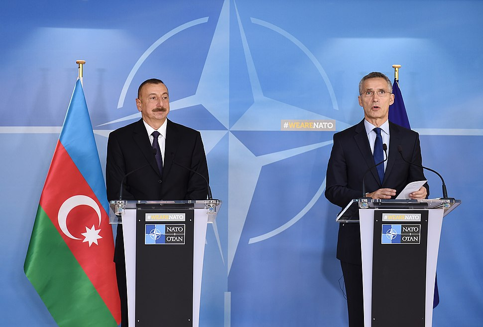 Azerbaijani President and NATO Secretary General
