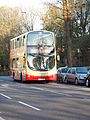 BF62 UXH (Route 7) at Cromwell Road, Hove (15094841122).jpg