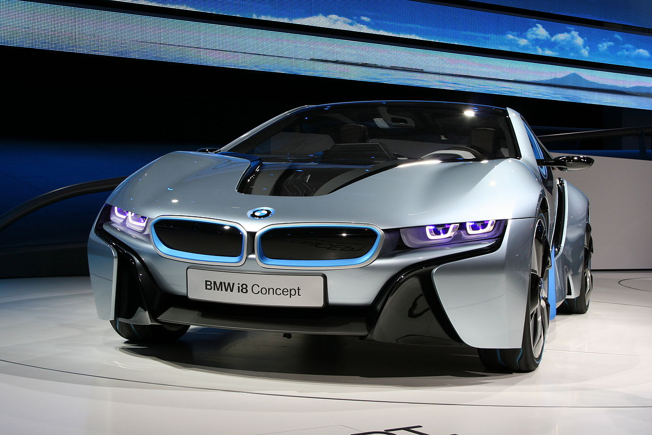 File Bmw I8 Concept Iaa Front Jpg Wikimedia Commons