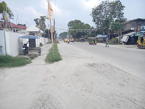 Samal, Davao del Norte - Samal Circumferential Road in Babak District, Samal Island
