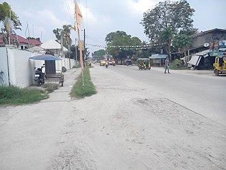 Samal, Davao del Norte - Samal Circumferential Road in Babak District, Samal Island
