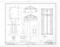 Babson Stable and Service Building, 283 Gatesby Lane, Riverside, Cook County, IL HABS ILL,16-RIVSI,1A- (sheet 6 of 7).png