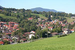 Bad Kohlgrub - Bad Kohlgrub from the northeast