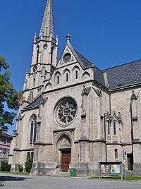 Bad Hall Kath.Pfarrkirche hl.Erlöser Kirchenplatz 5 (01).JPG