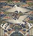 Badge (Hyungbae) of the Upper Civil Rank with Two Cranes LACMA M.2000.15.198.jpg