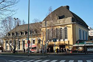 Frankfurt Höchst station - Image: Bahnhof Frankfurt Hoechst