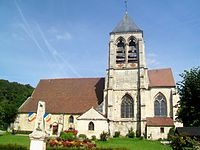Bailleval (60), église.jpg