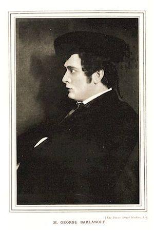 Georges Baklanoff - Georges Baklanoff as Escamillo.