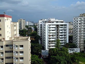 Ballygunge - View of Ballygunge Circular Road