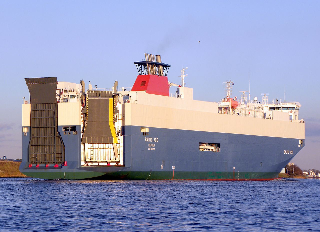 De Baltic Ace in 2009