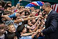 Barack Obama with children at Chulalongkorn University.jpg