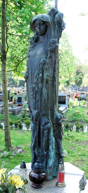 Barbara Kwiatkowska-Lass - The grave of Barbara Lass in Poland
