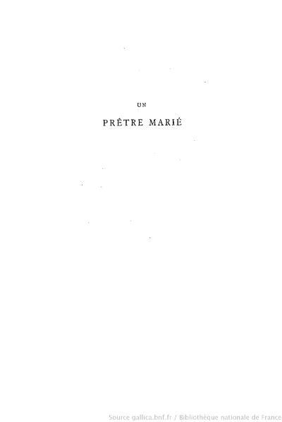 File:Barbey d'Aurevilly - Un prêtre marié, Lemerre, 1881, tome 1.djvu