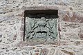 Barcaldine Castle - view of carved panel.jpg