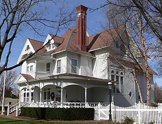 National Register of Historic Places listings in Buffalo County, Nebraska - Image: Barnd House 4