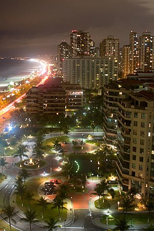 Barra da Tijuca - Barra da Tijuca at night