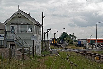 Barton line - Image: Barrow Road Crossing Signal Box, New Holland