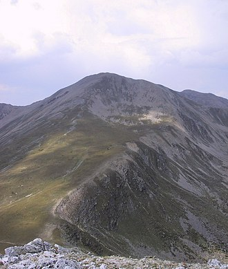 Bastiments - The summit of Bastiments
