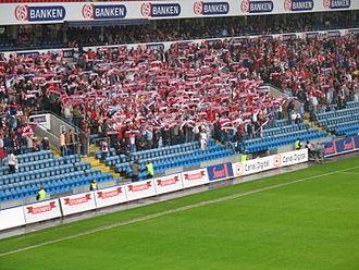 """Lyn Fotball - """"Bastionen"""", the fans of Lyn Oslo"""