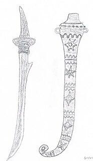 Piso Halasan Type of Sword