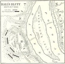 """Fact #1: The Battle of Ball's Bluff was the result of a """"slight demonstration."""""""