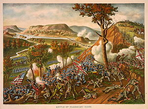 Battle of Missionary Ridge - Image: Battle of Missionary Ridge Kurz & Allison