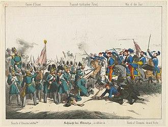 Battle of Oltenița - Image: Battle of Oltenitza