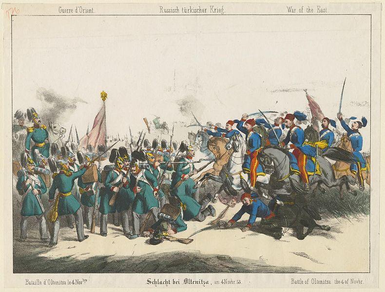 Oltenița-i csata. Az első vér a Krími háborúban. - Forrás: Wikipédia