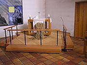 Bavnehøj Kirke alter