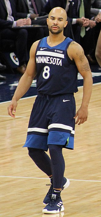 Jerryd Bayless - Bayless with the Timberwolves in 2019
