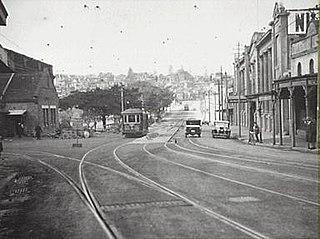 Bayswater Road, Sydney street in Sydney