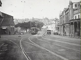 Bayswater Road, Sydney - Image: Bayswater Road Kings Cross in 1929