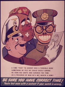 WW2 Australia Cartoon American War Mongers