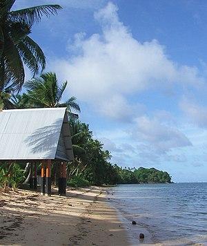 Babeldaob - Beach near Melekeok
