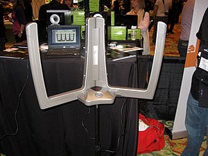 Beamz - Beamz Demo at Showstoppers at Consumer Electronics Show 2010.