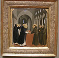 Beato angelico, incontro tra san domenicoe san francesco, 1430 ca..JPG