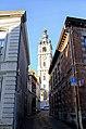 Beffroi vu de la rue Courte à Mons -121114- fr.jpg
