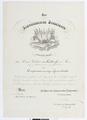 Befordran av Walther von Hallwyl till kapten - Hallwylska museet - 102526.tif