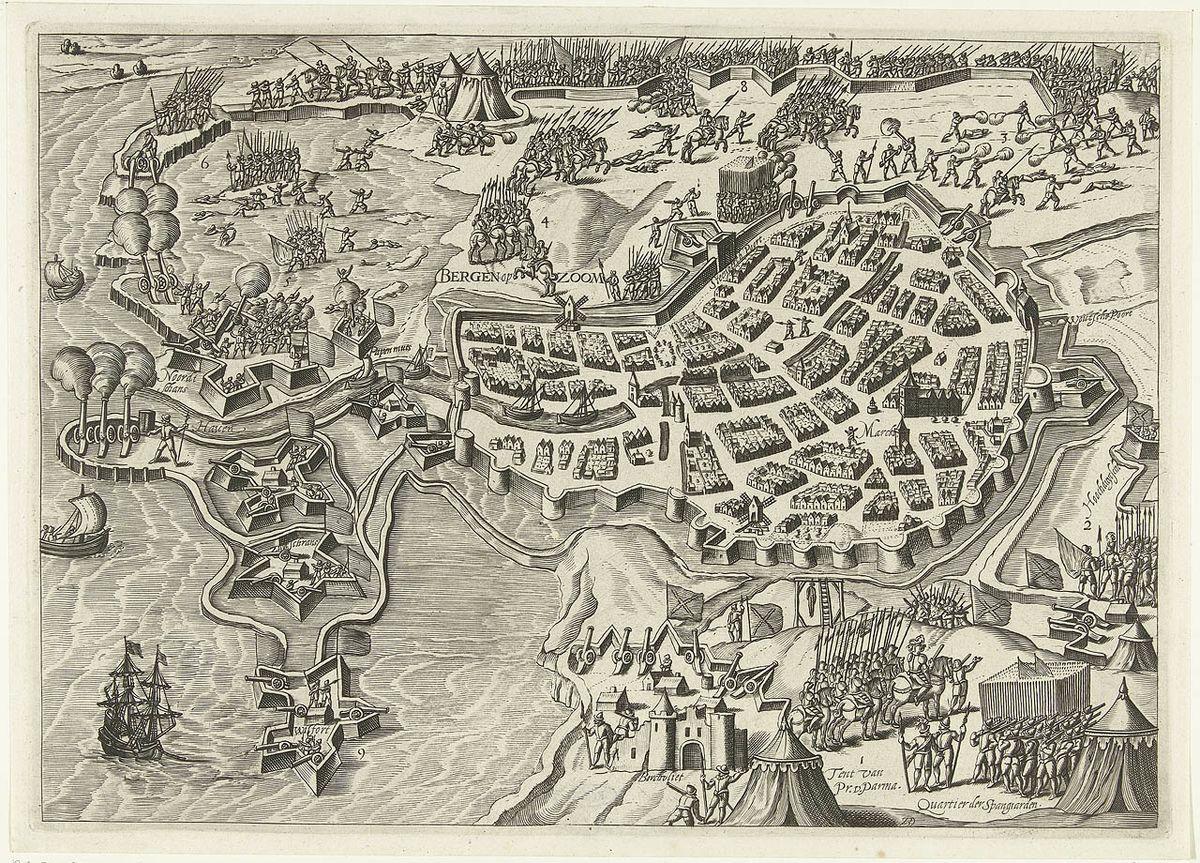 Siege of Bergen op Zoom (1588) - Wikipedia