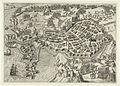 Beleg van Bergen op Zoom (1588) door Parma - Siege of Bergen op Zoom in 1588 by Alexander Farnese, Duke of Parma (Bartholomeus Willemsz. Dolendo).jpg