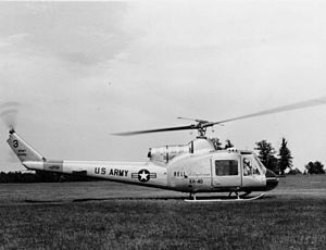 Bell UH-1 Iroquois - A Bell XH-40, a prototype of the UH-1