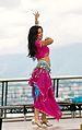Belly dancing girl, Yasmia snapped at Vancouver Sawan Mela, 2011.jpg