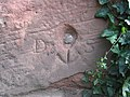 Benchmark on the Water Tower - geograph.org.uk - 680689.jpg