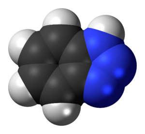 Benzotriazole - Image: Benzotriazole 3D spacefill