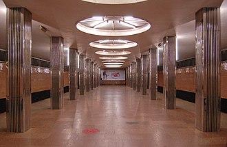 Beresteiska (Kiev Metro) - The Station Hall