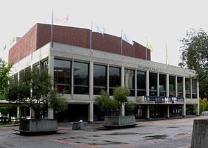 Zellerbach Hall - Image: Berkeley Zellerbach Hall